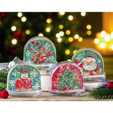 Nussknacker, Zuckerstange, Weihnachtsbaum, Weihnachtsmann auf Schlitten