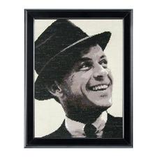 "Modernes Gobelinbild ""Frank Sinatra"""