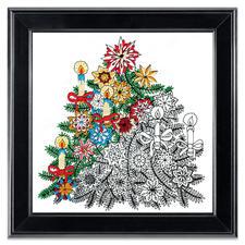 """Stickbild """"Christmas Tree"""" Zenbroidery – Die Kunst des freien Stickens"""