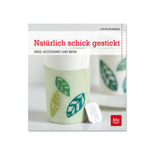 """Buch - Natürlich schick gestickt – Deko, Accessoires und mehr Buch """"Natürlich schick gestickt"""""""