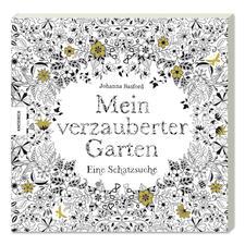 """Ausmalbuch """"Mein verzauberter Garten. Eine Schatztruhe"""""""