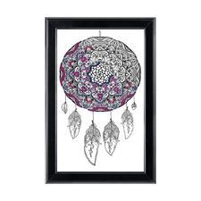"""Stickbild """"Dream Catcher"""" Zenbroidery – Die Kunst des freien Stickens"""