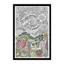 """Stickbild """"Dream"""" Zenbroidery – Die Kunst des freien Stickens"""