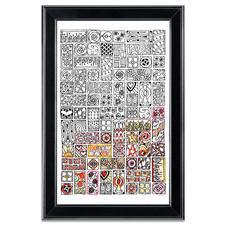 """Stickbild Zenbroidery """"Cubist"""""""