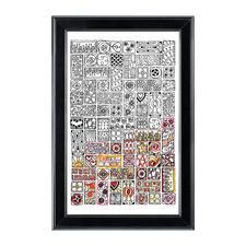 """Stickbild """"Cubist"""" Zenbroidery – Die Kunst des freien Stickens"""