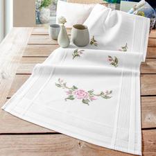 Tischläufer, 40 x 100 cm, Rosen