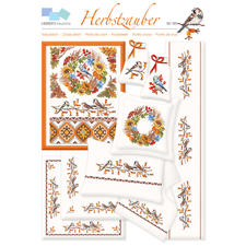 """Kreuzstich-Zählmuster-Vorlagen - Herbstzauber Kreuzstich-Zählmuster-Vorlagen """"Herbstzauber"""""""