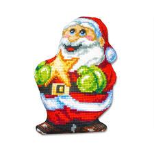 """Formkissen """"Weihnachtsmann mit Stern"""" -"""