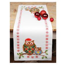 Tischläufer - Weihnachtseulen