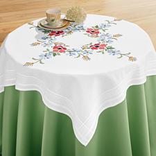 Tischdecke, 80 x 80 cm, Wiesenblumen