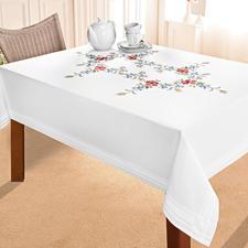 Tischdecke, 130 x 160 cm, Wiesenblumen
