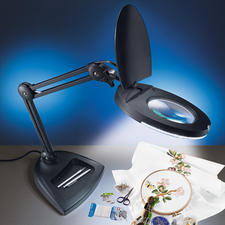 LED-Gelenkarmleuchte, Schwarz