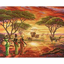 """Malen nach Zahlen """"Afrika"""" Malen nach Zahlen"""