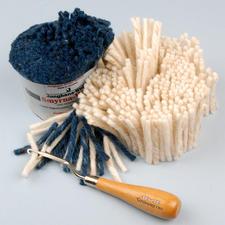 Smyrna-Knüpfpack oder -Strangwolle, 50 g Für Ihre eigenen Entwürfe: Junghans-Garne und Grundstoffe zum Knüpfen Für Ihre eigenen Entwürfe: Junghans-Garne und Grundstoffe zum Knüpfen