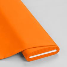 "Meterware ""Basic-Stoffe"", Orange Basic-Stoffe aus Baumwolle"