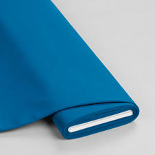 Meterware - Basic-Stoffe, Türkisblau Basic-Stoffe aus Baumwolle