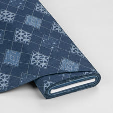 "Meterware Denim Prints ""Diamond Arcuate"" Angesagter Denim-Style aus den USA"