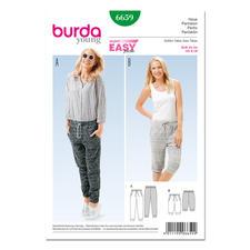 Burda Schnitt 6659 - Jogpants