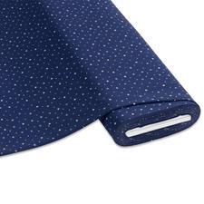 """Meterware Baumwoll-Jersey """"Sterne"""", Blau Stylische Sternendrucke für Ihre individuellen Näh-Ideen"""