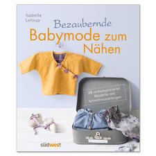 "Buch ""Bezaubernde Babymode zum Nähen""."