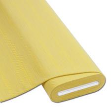 """Meterware Baumwoll-Jersey """"Streifen"""", Gelb Baumwoll-Jersey – Der ideale Stoff für bequeme Shirts, Kleider und Kindermode."""
