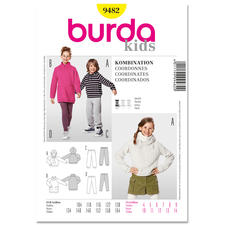 "Burda Schnitt 9482 ""Kombination Kids"""