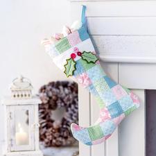 """Näh-Idee """"Stiefel"""" Stiefel: Näh-Idee aus dem Buch """"Nähen für Weihnachten"""""""