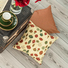 Näh-Idee - Kissen Weihnachten, 2 Stück Kissen: Näh-Idee aus dem Buch - Nähen für absolute Anfänger