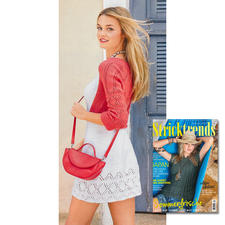 Minikleid und Bolero aus Stricktrends Sommer 2/16 DRESSCODE: FEMININ