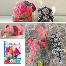 Elefanten aus Anna Special A 456 Häkel-Patchwork