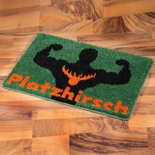 """Fußmatte """"Platzhirsch"""""""
