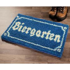 """Fußmatte """"Biergarten"""""""