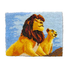 """Wandbehang """"König der Löwen"""""""