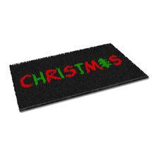 """Fußmatte """"Christmas"""" Weihnachtliche Fußmatte."""