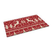 Fußmatte - Weihnachtszeit Weihnachtliche Fußmatte.