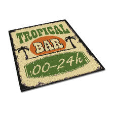 "Teppich ""Tropical Bar"""