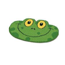 Formteppich - Frosch Erstes Knüpfen für die ganz Kleinen.