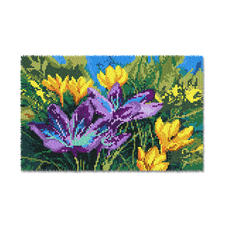 "Wandbehang ""Krokusse"" Wandbehänge mit Frühlingsmotiven."