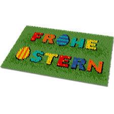 "Fußmatte ""Frohe Ostern"""