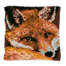 "Knüpfkissen ""Fuchs 1"" Naturalistische Tiermotive"