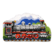 Formteppich - Eisenbahn