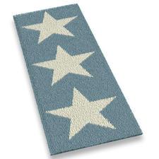 Läufer - White Stars Stars und Sternchen-Erfolgsdesigns jetzt auch als lange Läufer.