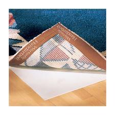 Teppich-Unterlage. Rutschfest, trittelastisch und isolierend.