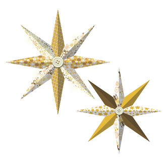 Paper Stars - Golden Charm