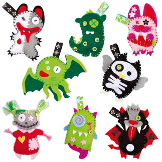 Mini Monster Friends