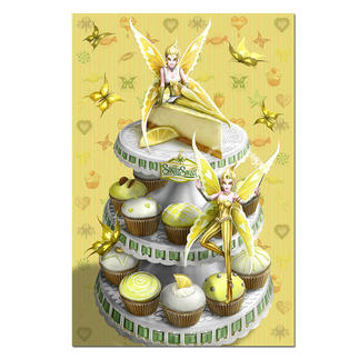 Puzzle - Zitronen-Elfen Sugar Sweet Puzzle.