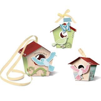 Paper Birdhouses