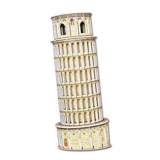 3D-Bauwerk - Schiefe Turm von Pisa