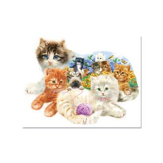Puzzle - Katzenbabys Puzzeln - Ein Spaß für die ganze Familie – spannend und entspannend zugleich.
