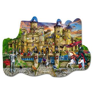 Puzzle - Schloss Stronghold Puzzeln - Ein Spaß für die ganze Familie – spannend und entspannend zugleich